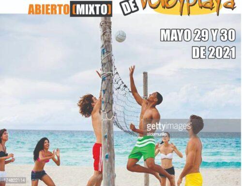 CAMPEONATO MUNICIPAL Y VEREDAL MIXTO DE VOLEY PLAYA