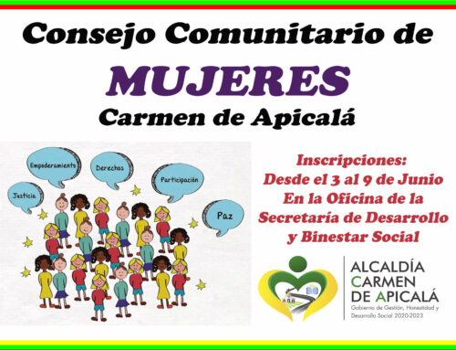 CONSEJO COMUNITARIO DE MUJERES CARMEN DE APICALÁ