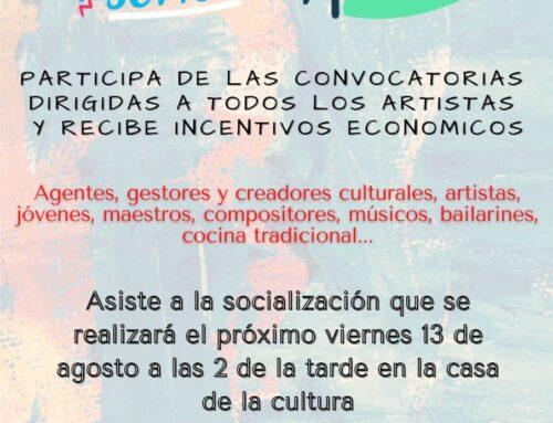 Socialización de la Convocatoria Cultura En Movimiento, Ministerio de Cultura